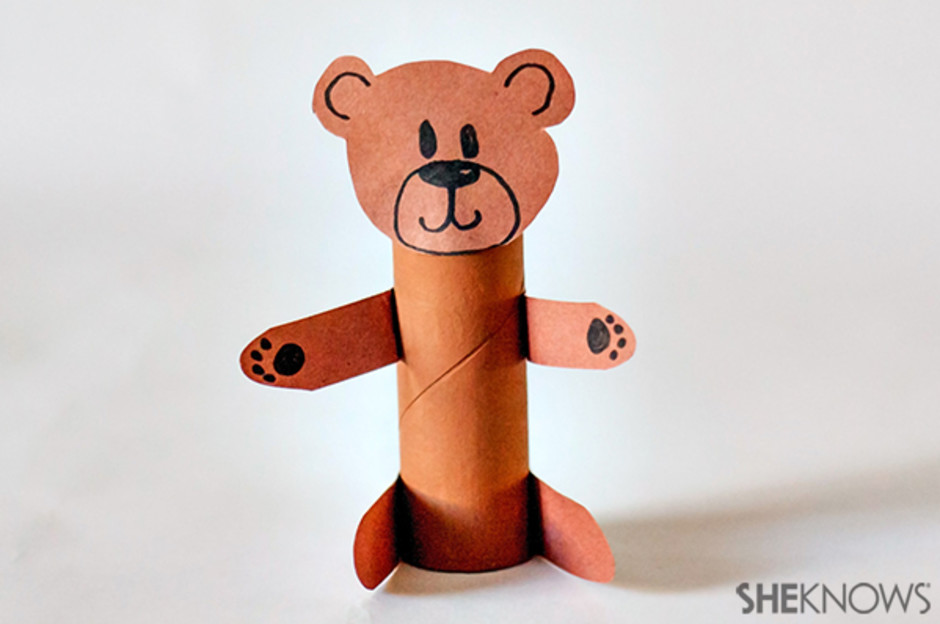 8 Fun Bear Crafts That Preschoolers Will Love Diy Thought