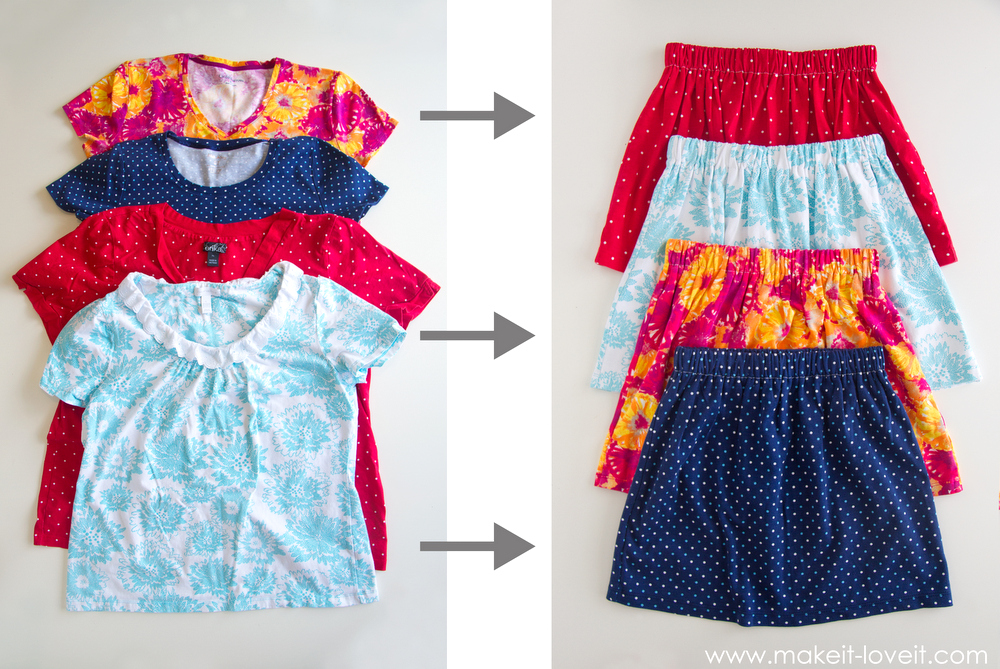 df3d91776949 Turn Adult Shirts Into Kids Clothes 5 Ways - diy Thought