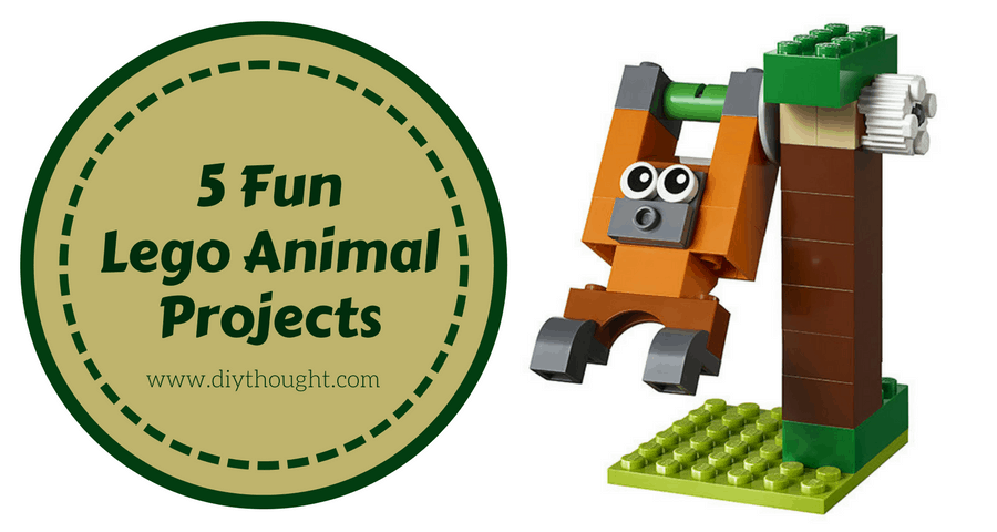 5 Fun Beginner Lego Animal Projects Diy Thought