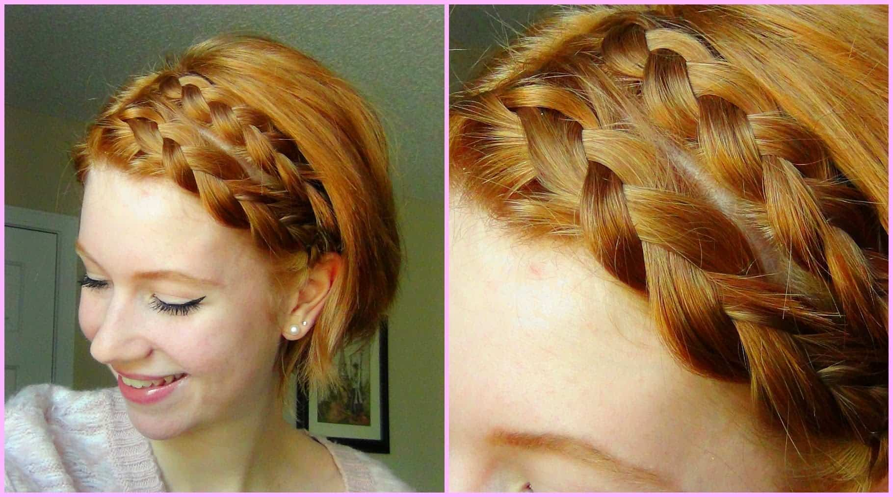 Quick and Beautiful Braids for Short Hair pictures