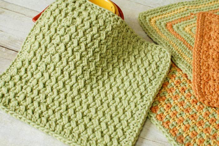 40 Of The Best Free Homemade Washcloth Dishcloth Patterns Diy Thought Inspiration Best Crochet Dishcloth Pattern