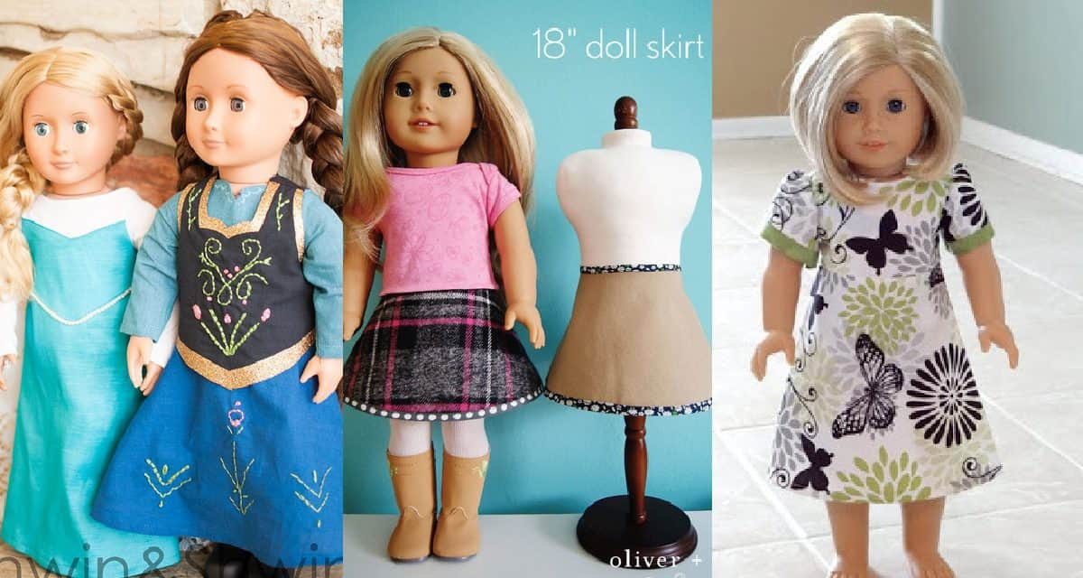 7+ Dolls Clothing Patterns For 18″ Dolls