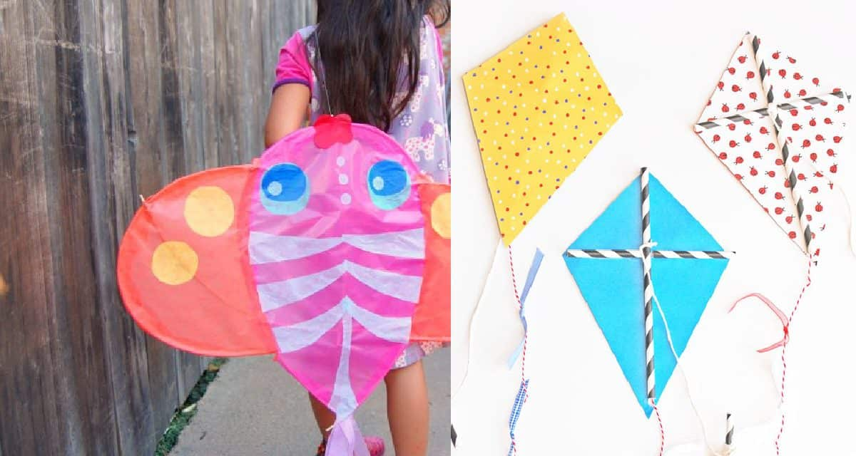 5 Diy Kites Kids Will Love To Fly