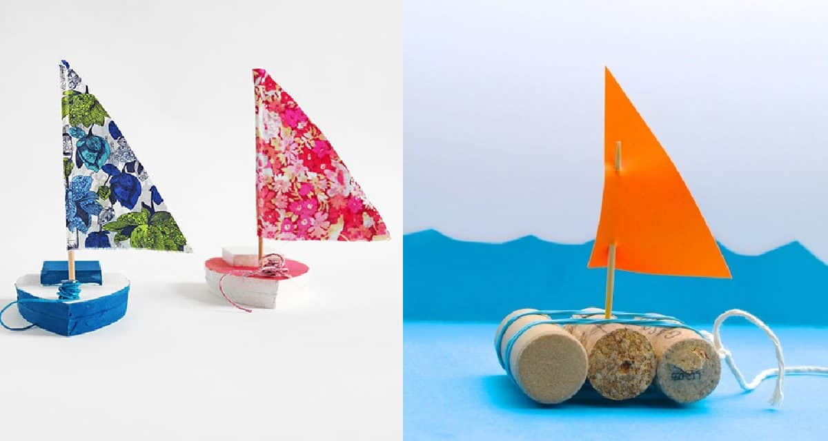 Make Your Own Toy Sailboat!
